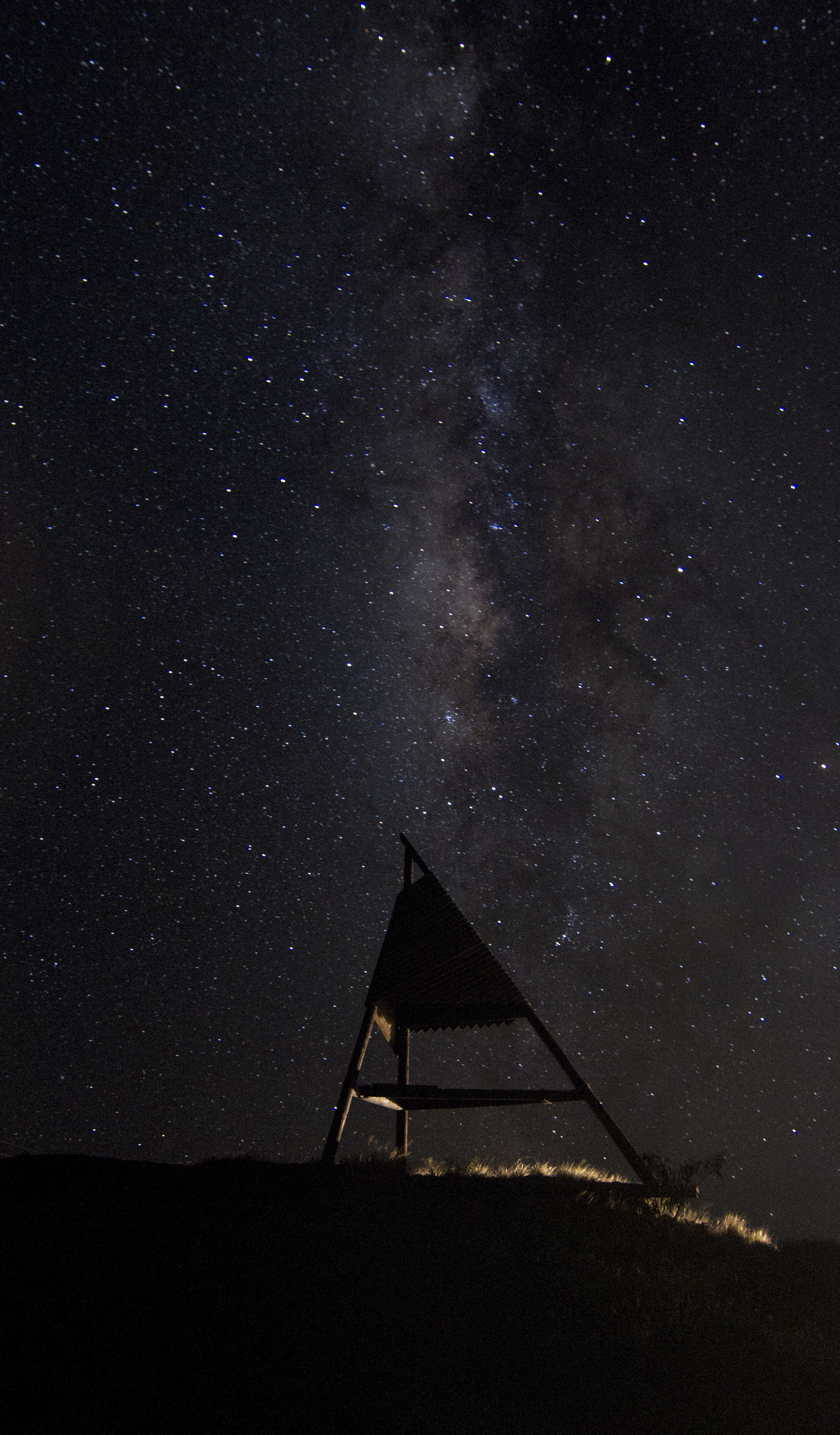 Cassiopia stargazing photo